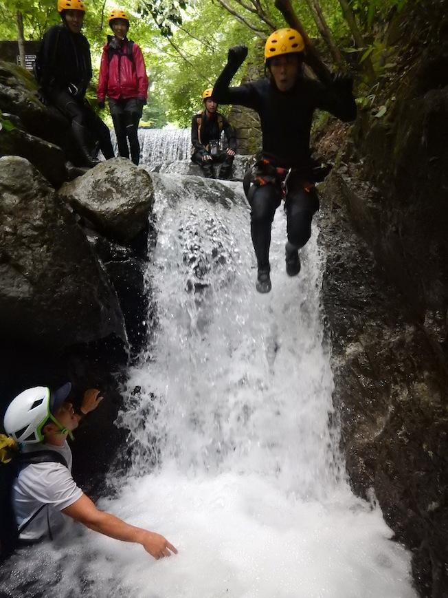 シャワークライミング キャニオニング 丹沢 秦野 神奈川