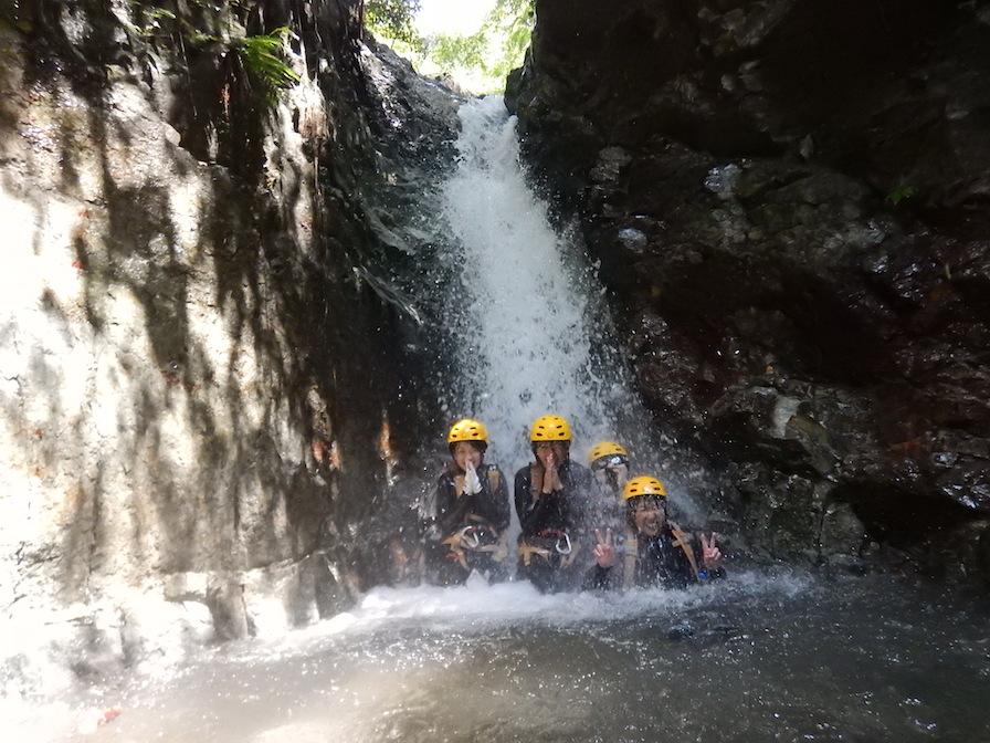 シャワークライミング キャニオニング 丹沢 秦野 神奈川 女子ツアー