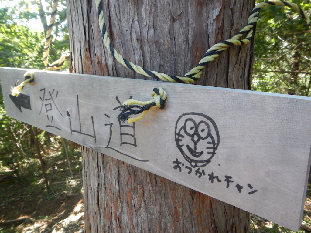 葛葉川本谷沢登り