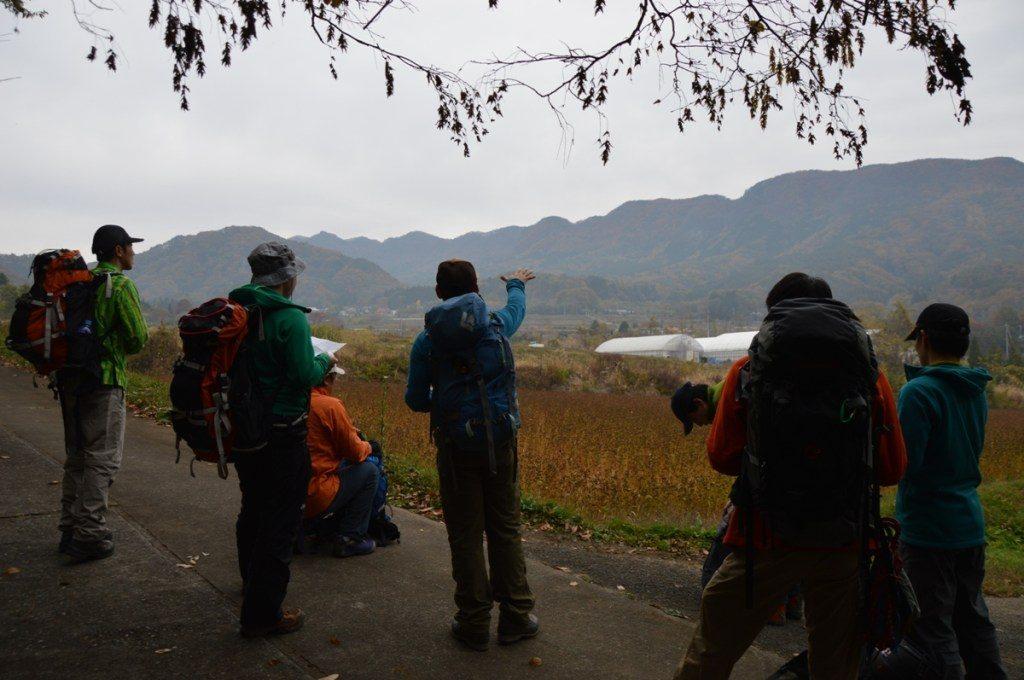 秋の登山教室
