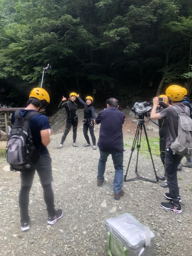 シャワークライミング 丹沢 なかなか日本! TVK
